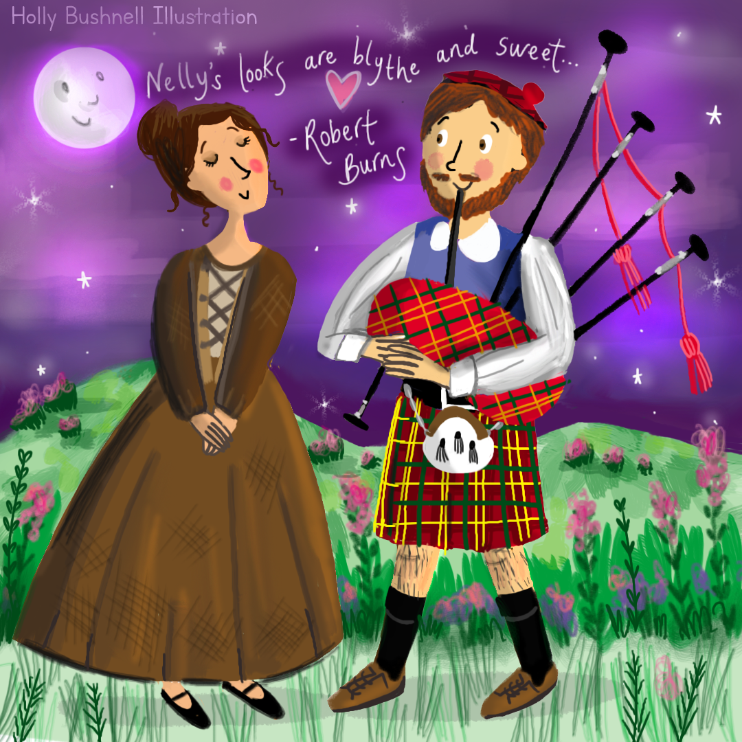 An Illustration for Burns' Night