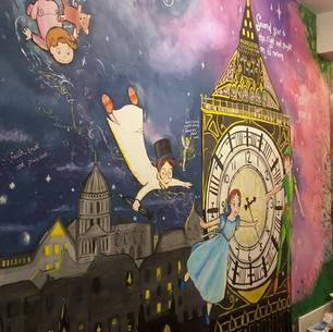 Peter Pan mural