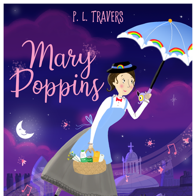 Mary Poppins Front Cover Design