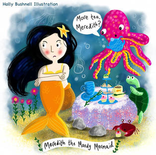 Meredith the Moody Mermaid