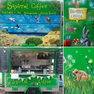 Squirrel Coffee Trailer