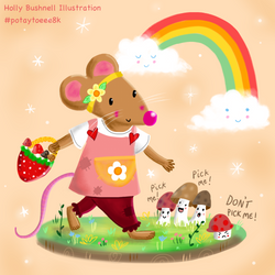 Marcie Mouse Character Design