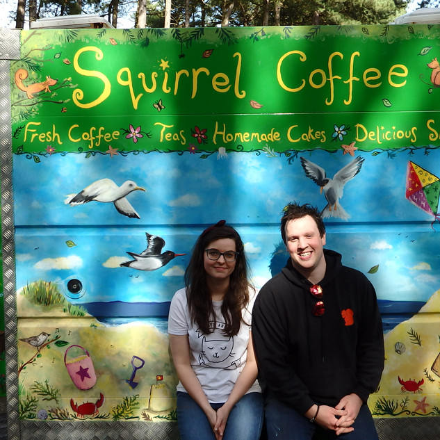 Squirrel Coffee's Trailer