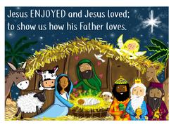 Jesus Enjoyed 1/4