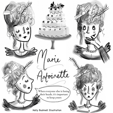 Character Study - Marie Antoinette