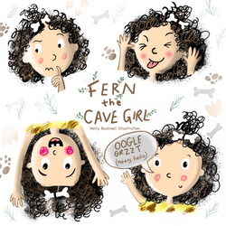 Character Study - Fern the Cave Girl