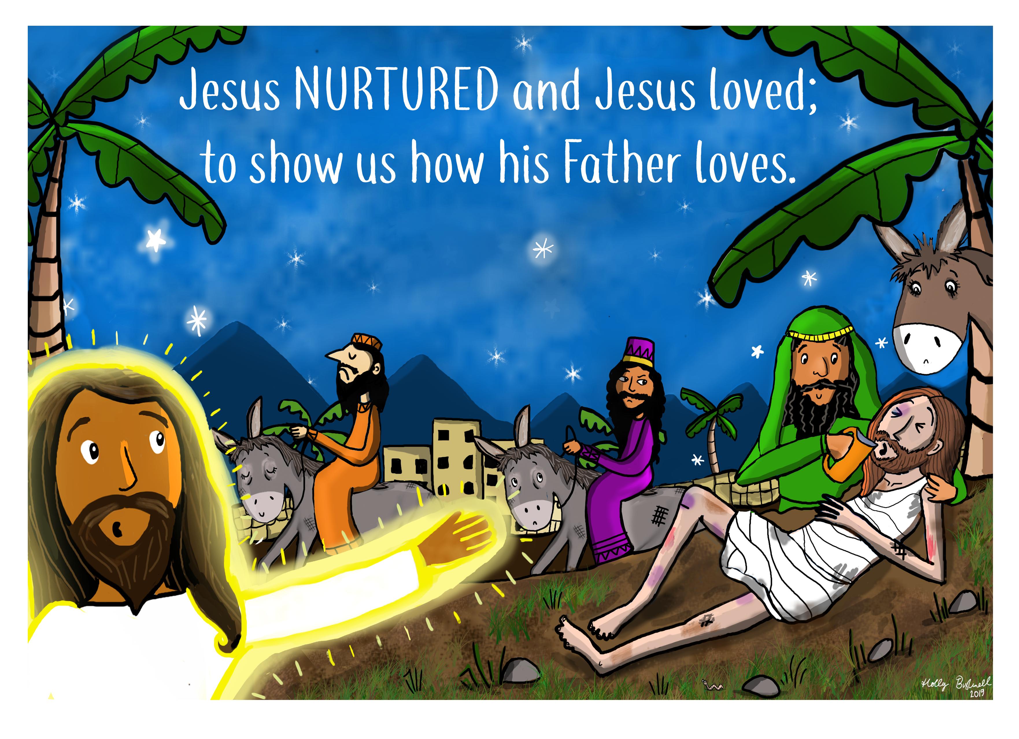 Jesus Nurtured 3/4