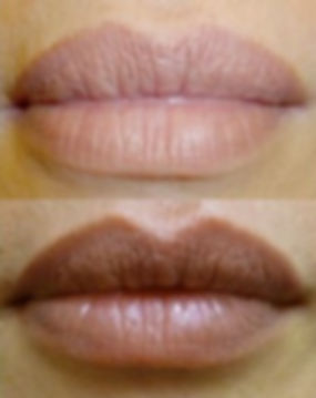 Lips Permanent Makeup, Lined, Full