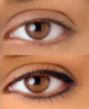 Eyeliner Permanent Makeup, Upper, Lower, Full