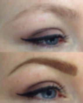Eyebrow Microblade, Ombre, Shadow