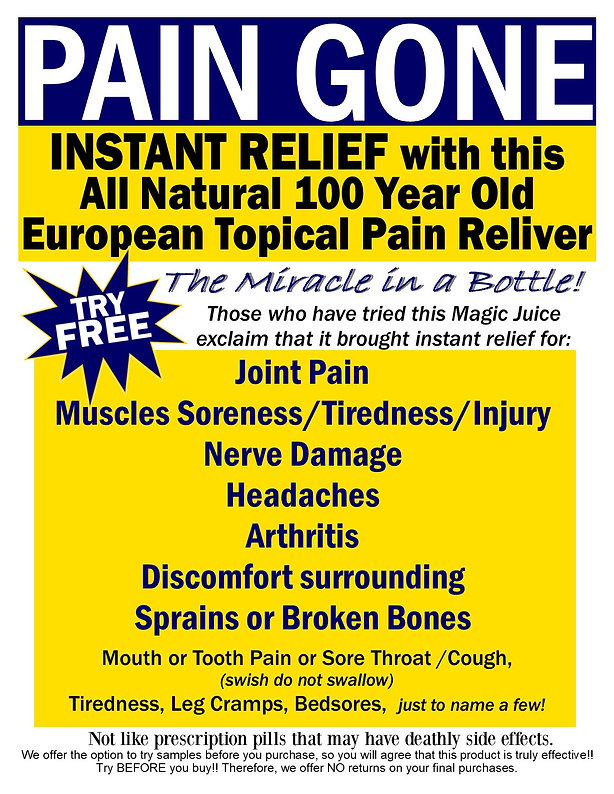 Alpa Muscle Joint Nerve Pain Reliever