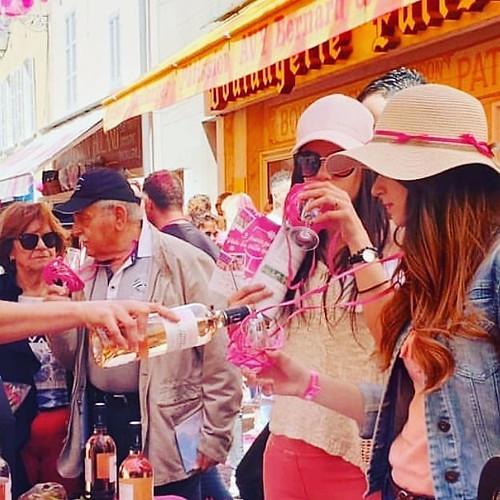 Pink Rose Wine Festival