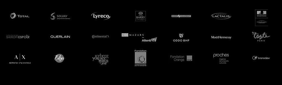 Logos meme page refernces 2019 Noir et b
