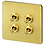 Thumbnail: Toggle коллекция Латунь полированная с внутренним креплением