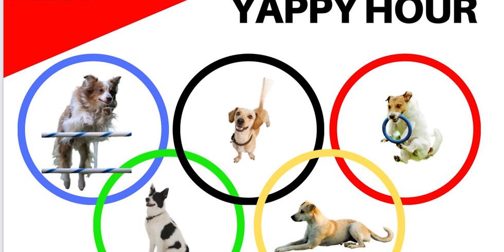Yappy Hour: Doggie Olympics