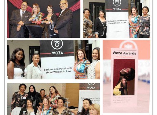 Cape Times Article: WOZA - Women in Law Awards Launched in South Africa