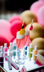 Drinks and nail polish