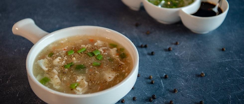 Hot & Sour Soup (Chicken/Veg)