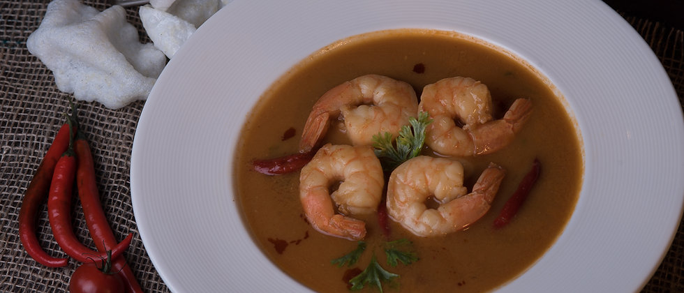 Prawn Coconut Soup