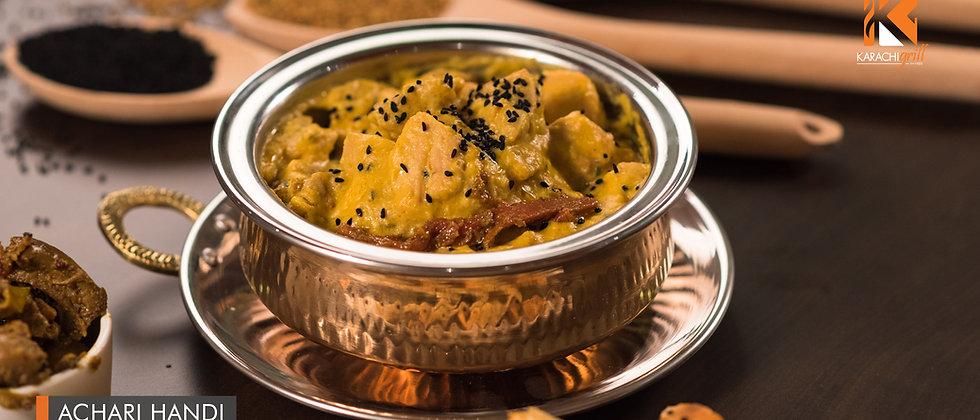 Achari Handi (Mutton)