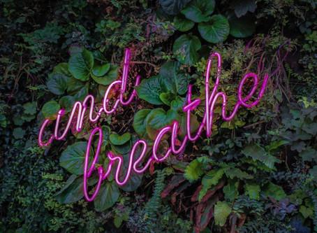Atme Dich zur Ruhe