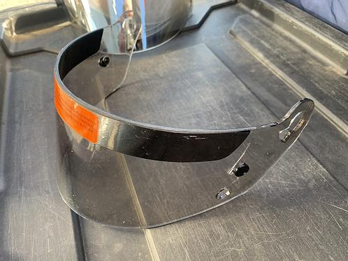 Light Tinted helmet visor: 1 hole mount type