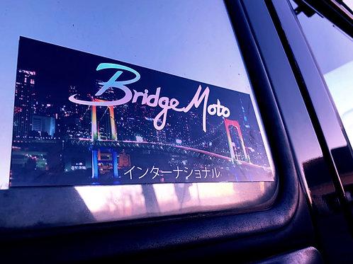 BridgeMoto International Slap Sticker