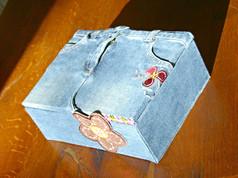 boite bijoux jean