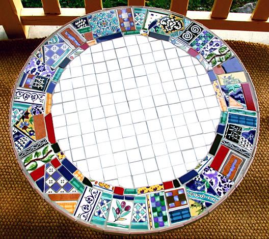 Table mosaïque