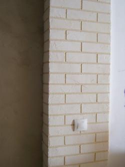 colonne en briques