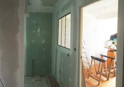 Salle de bains indus avant