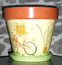 """Pot 50 cm """"Bicyclette"""""""