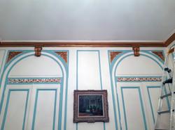 salon blanc pan de mur lyon