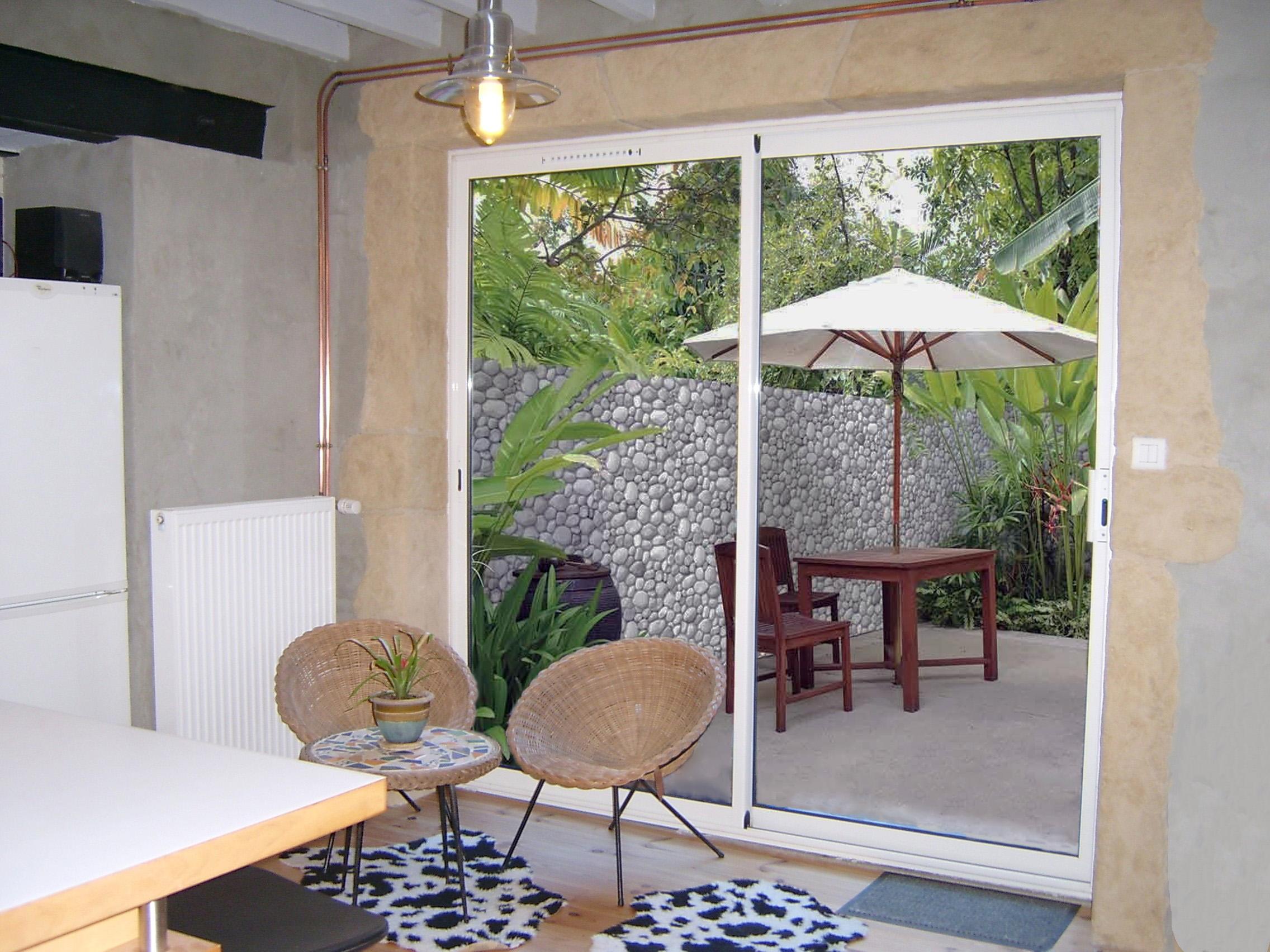 ouverture terrasse