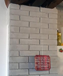 ouverture fausses briques