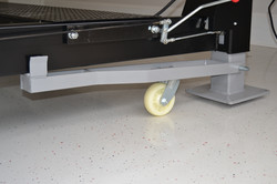 Caster Kit Included (Allows For Easy Movement of Assembled Lift)- Wildfire Lifts Double Wide Car Lif
