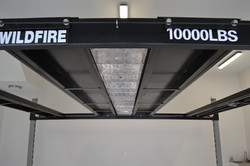 Bottom Side Of Included Center Aluminum Inserts - WIldfire Lifts Double Wide Car Lift