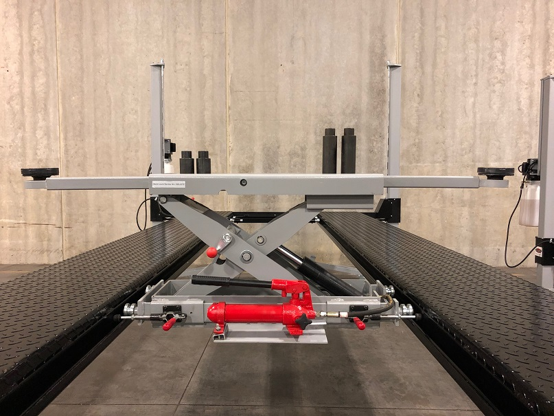 Manually Operated Car Lift Bridge Jack