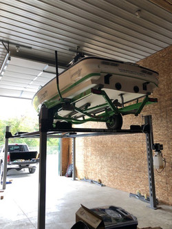 4 Post Trailer Lift
