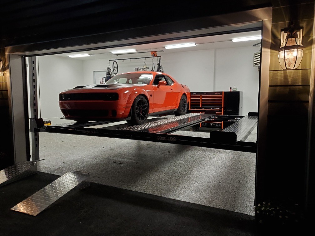 Double Wide Car Lift from Wildfire Lifts
