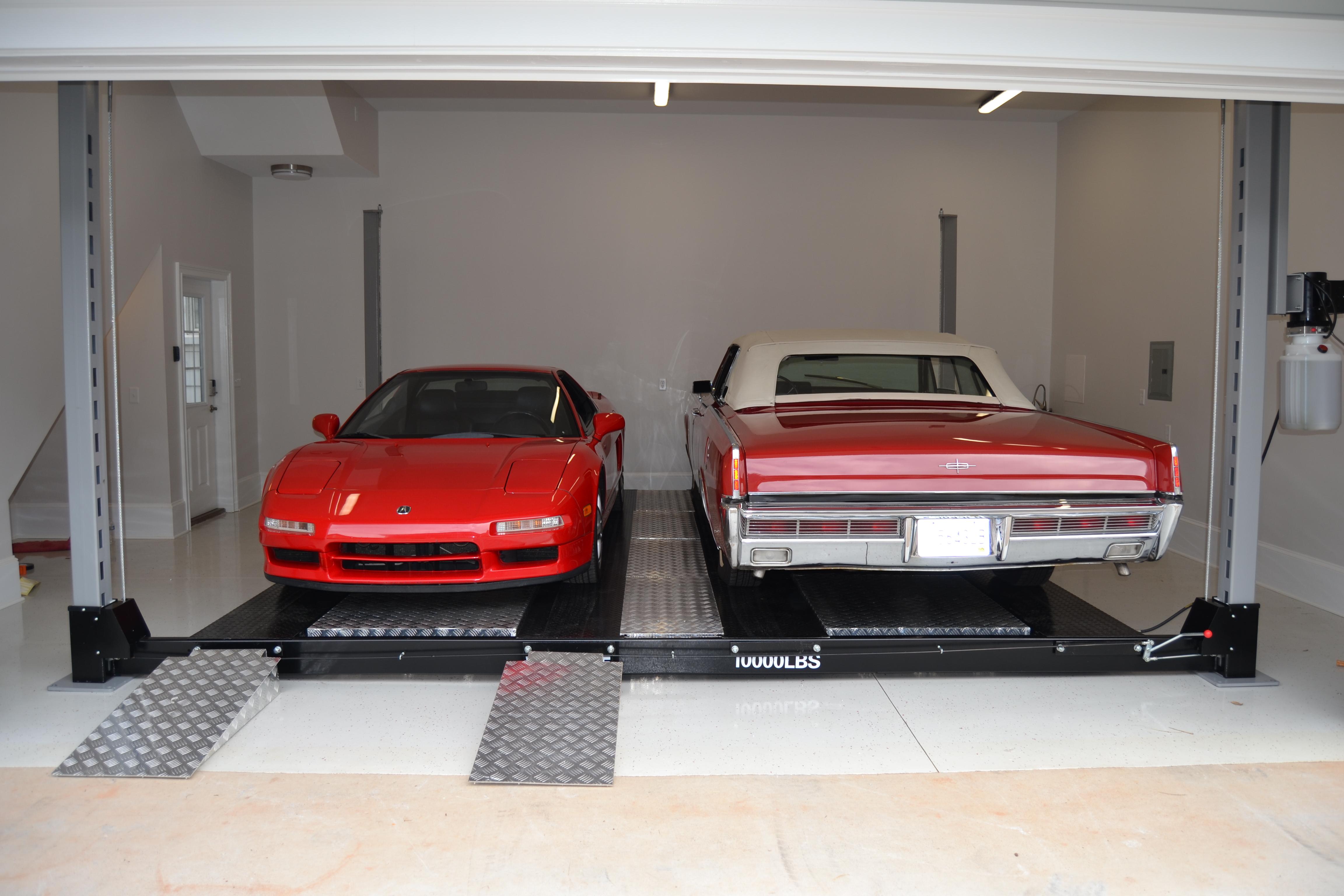 Double Wide Car Lift   4 Post Car Lifts   Safest, Highest
