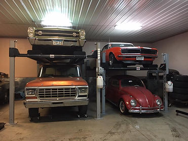 2 Car Lifts In a Minnesota Garage.jpg