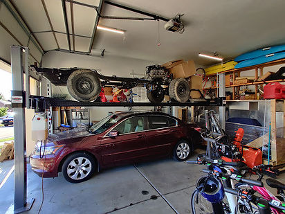 Jeep Project on Four Post Car Lift.jpg