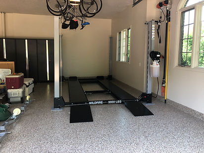 Local Minnesota Car Lift Installed - Wil
