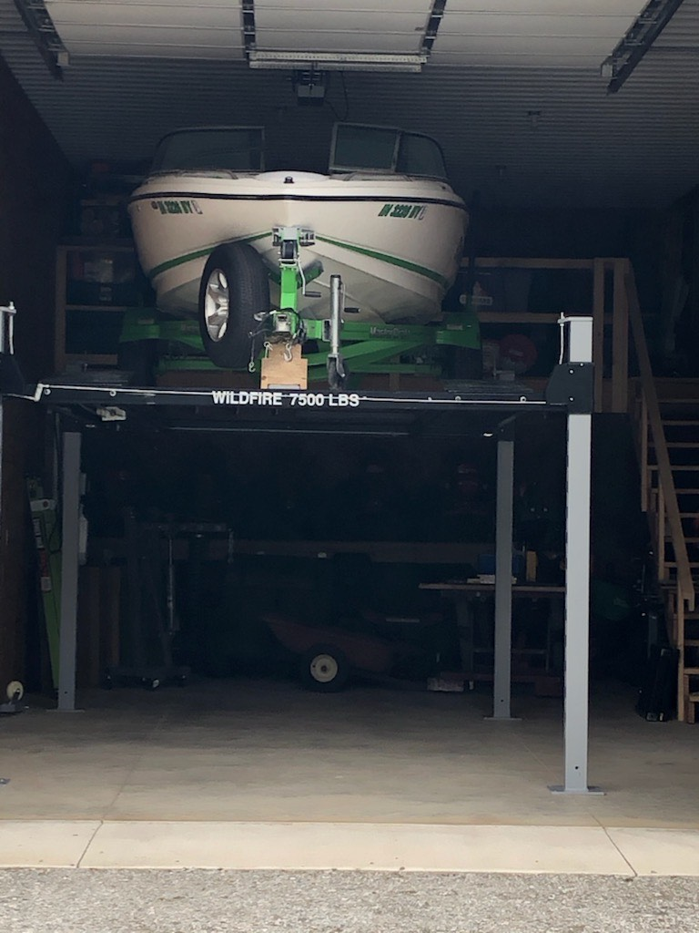 Trailer Lift for Storage