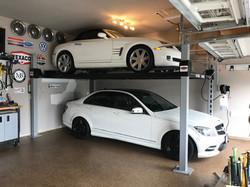 WF9000 In Residential Garage
