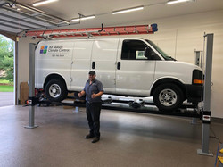 Workvan on Wildfire XLT 4 Post Car Lift.