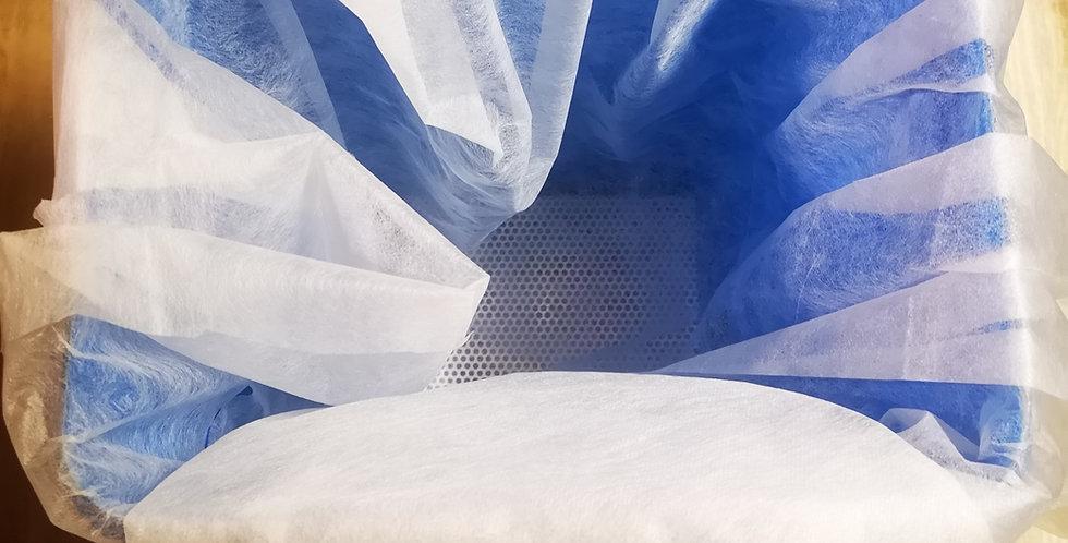 15.350 Tissu-filtre, coupon de 10 m x 1 m 60