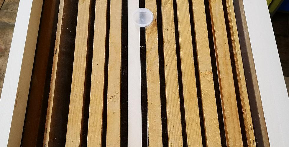 Couvre-cadres en plexiglas avec encadrement bois