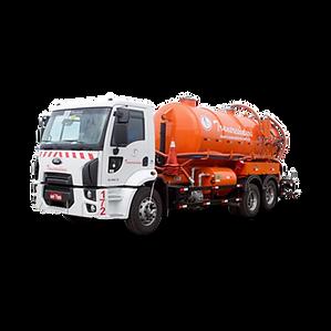 Caminhão Guindaste / Hidrojato para coleta e transporte de resíduos líquidos e limpeza de bueiros e galerias